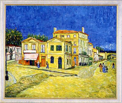 Galerie v. Hartmann - Das Gelbe Haus in Arles n. Vincent van Gogh